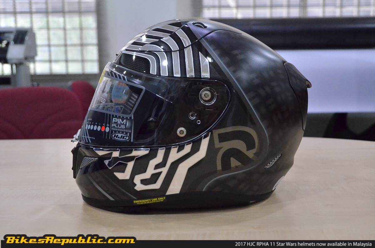 2017 hjc rpha 11 star wars helmets now available in malaysia from rm3 000 bikesrepublic. Black Bedroom Furniture Sets. Home Design Ideas
