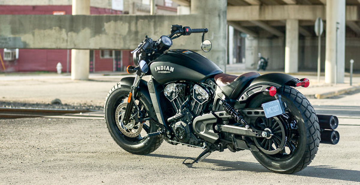 2017 indian scout bobber thunder black unveiled. Black Bedroom Furniture Sets. Home Design Ideas