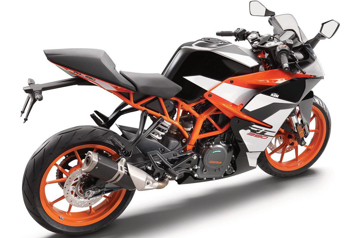 Ktm Announces Updated 2017 Ktm Rc390 Now With Ride By