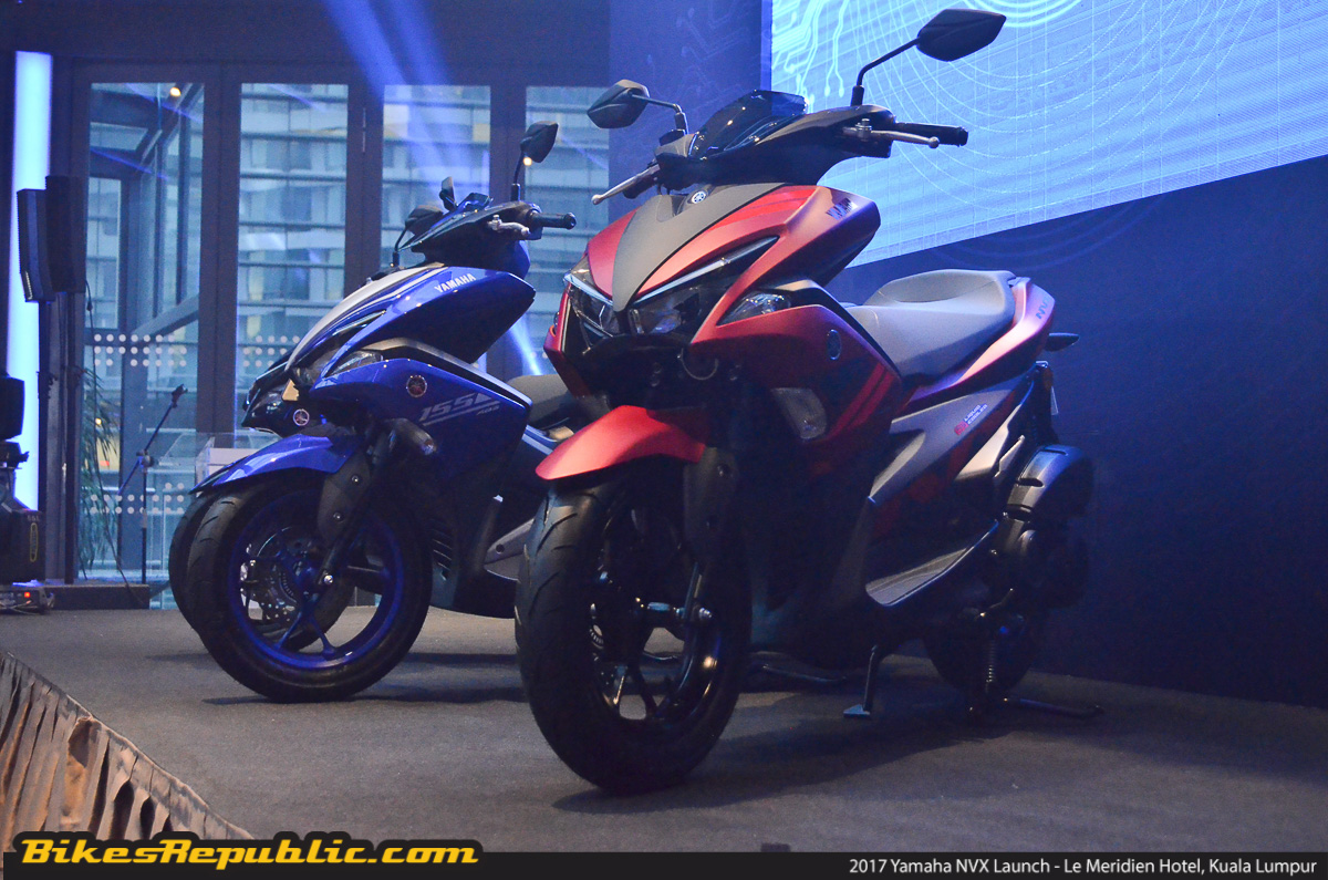 2017 yamaha nvx launched rm10 500 basic price with gst
