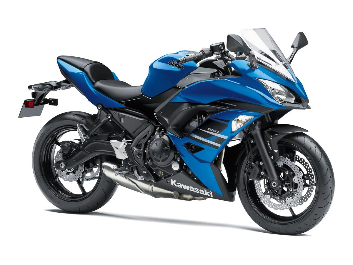 New colours for the 2018 Kawasaki Ninja 650 and Z650! - BikesRepublic