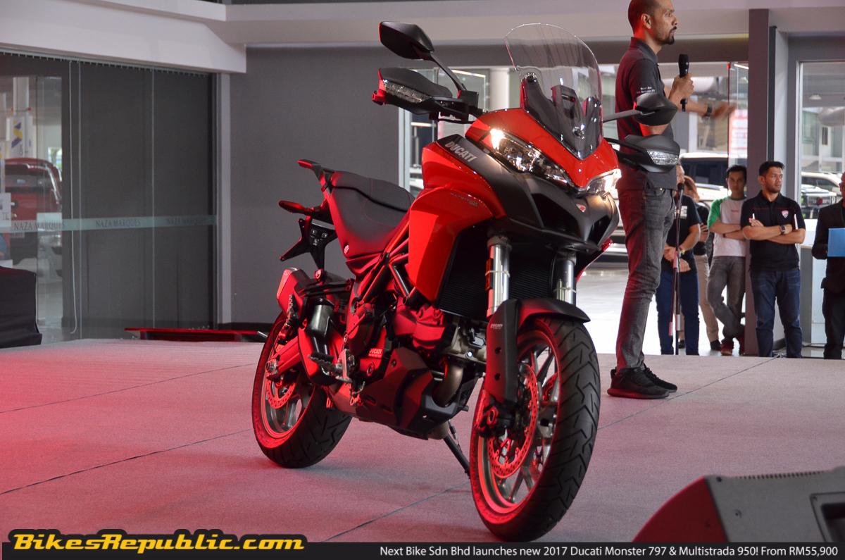 Next Bike Sdn Bhd launches new 2017 Ducati Monster 797 & Multistrada