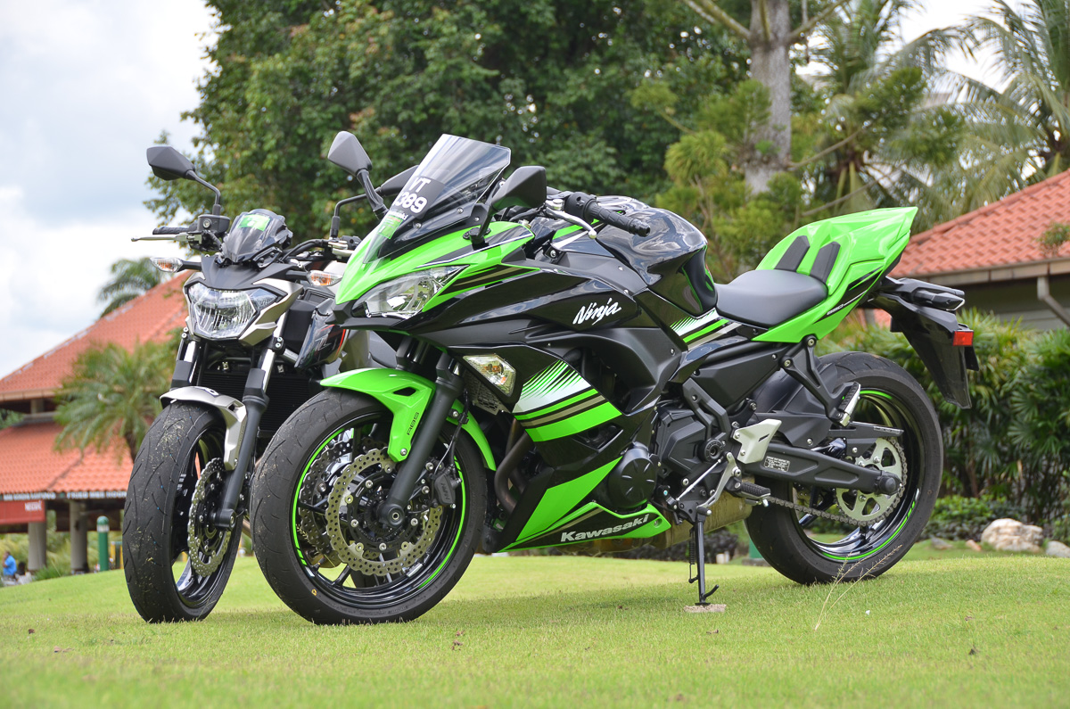 KAWASAKI NINJA 650 Z650 POPULAR IN US AND EU