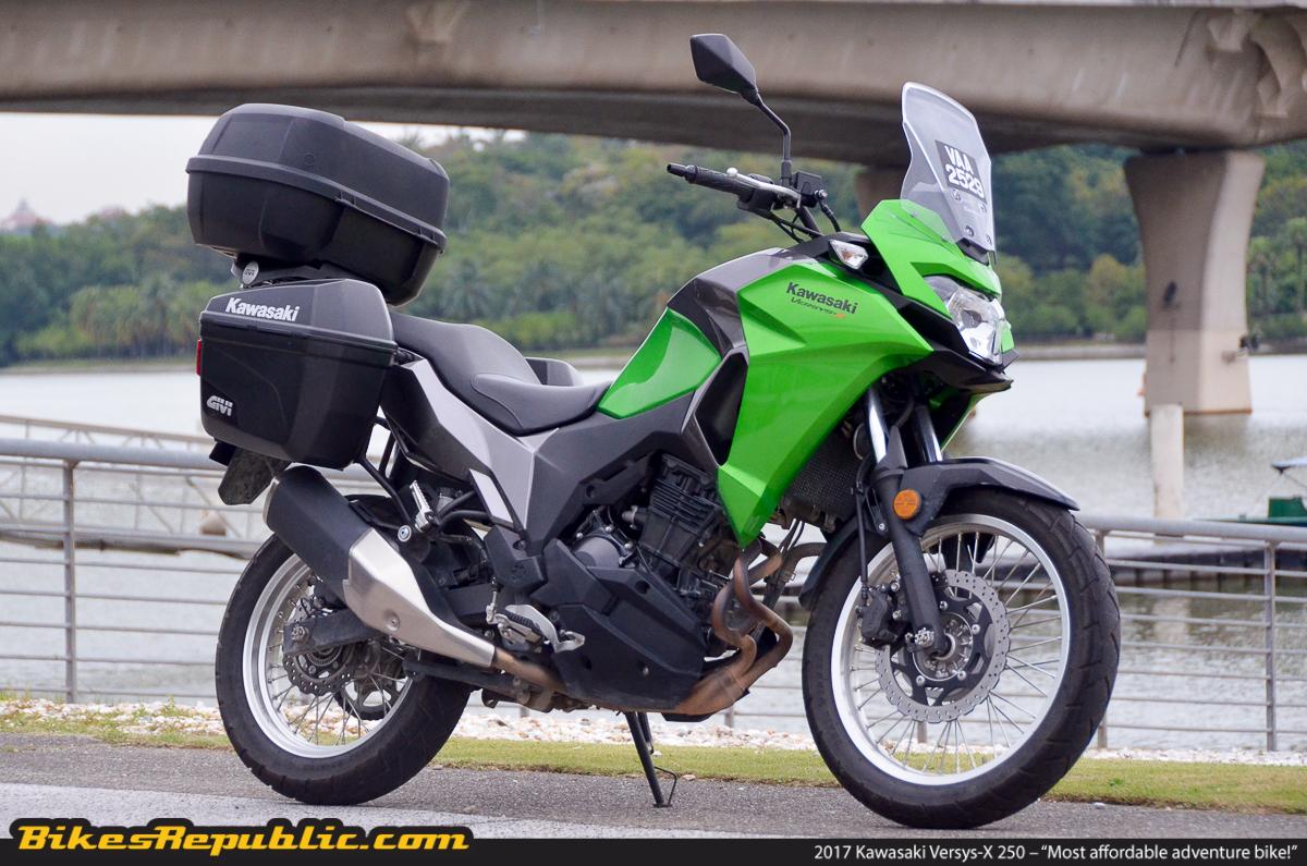 Kawasaki Versys Top Speed Video