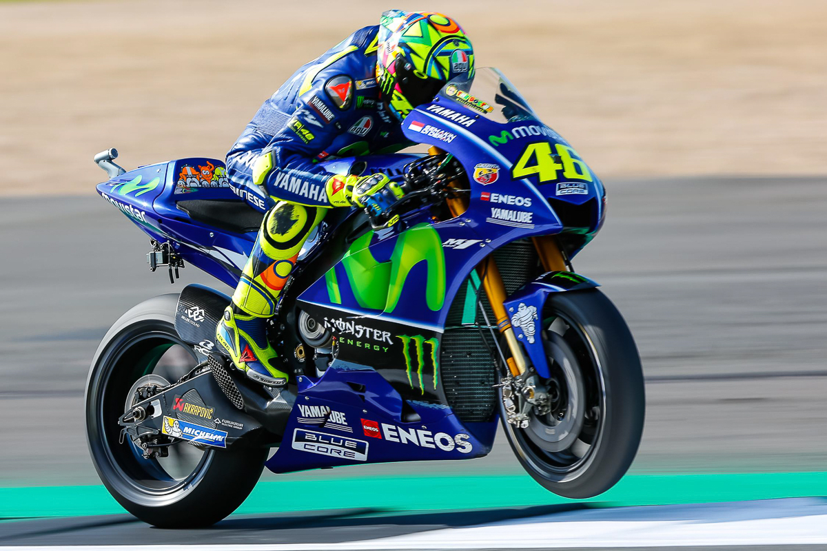 motogp valentino rossi will miss home race this weekend bikesrepublic. Black Bedroom Furniture Sets. Home Design Ideas