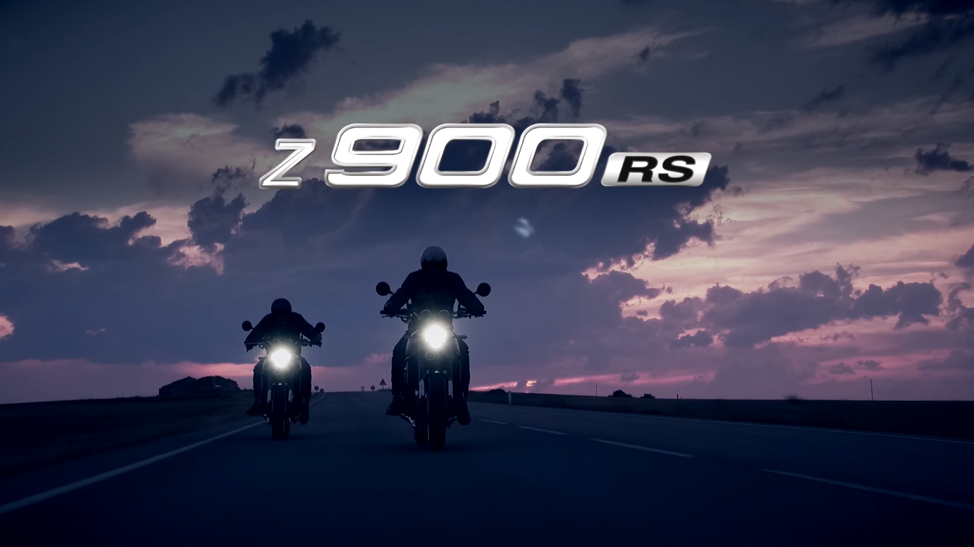 Kawasaki Releases 2018 Z900 RS Teaser Trailer