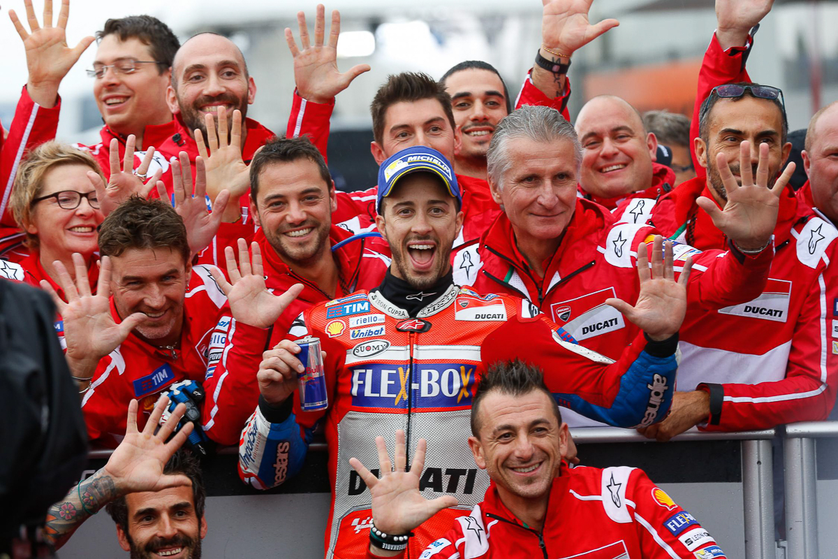 MotoGP: Andrea Dovizioso stays with Ducati until 2020!