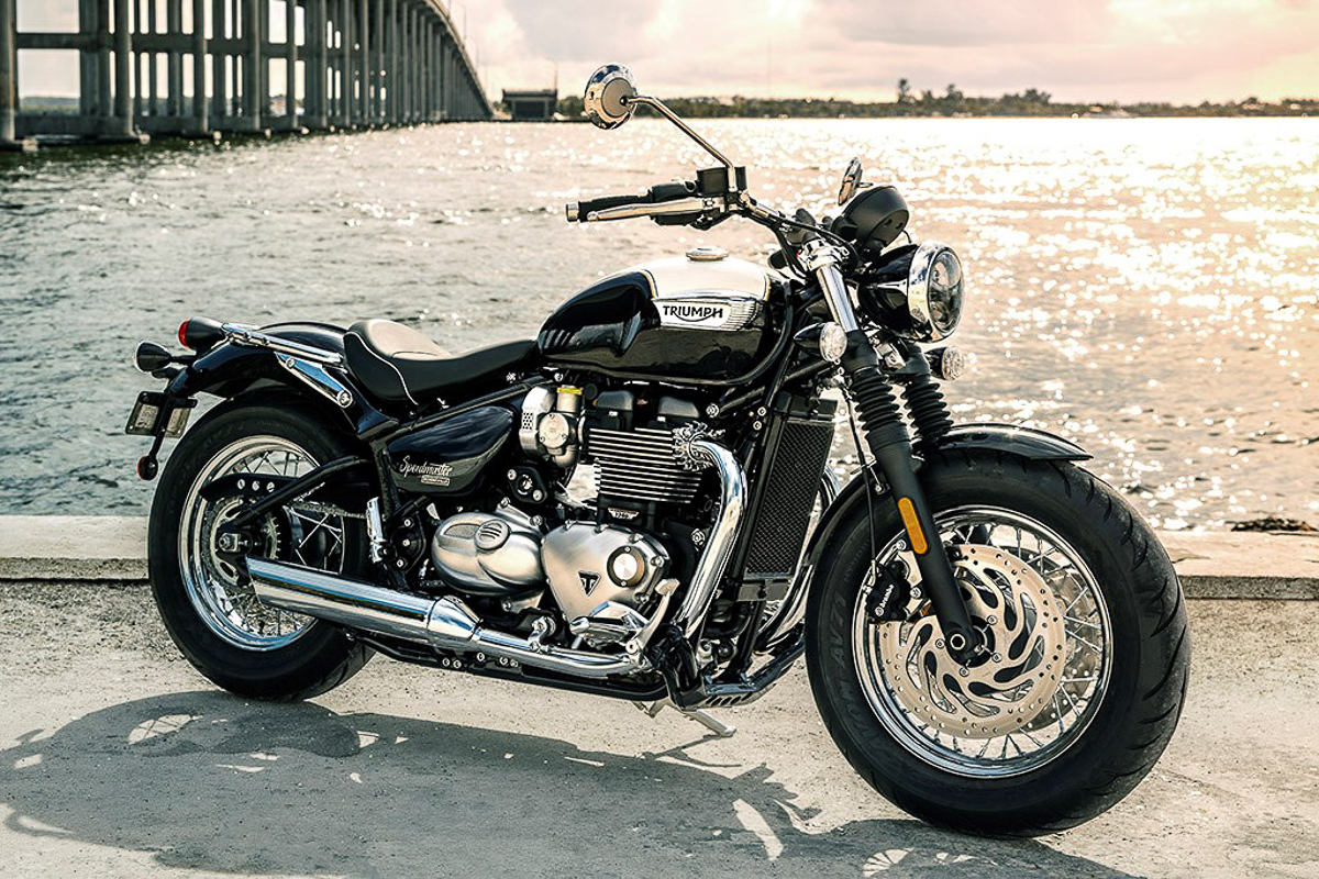 2018 triumph bonneville speedmaster launched the new british custom icon bikesrepublic. Black Bedroom Furniture Sets. Home Design Ideas