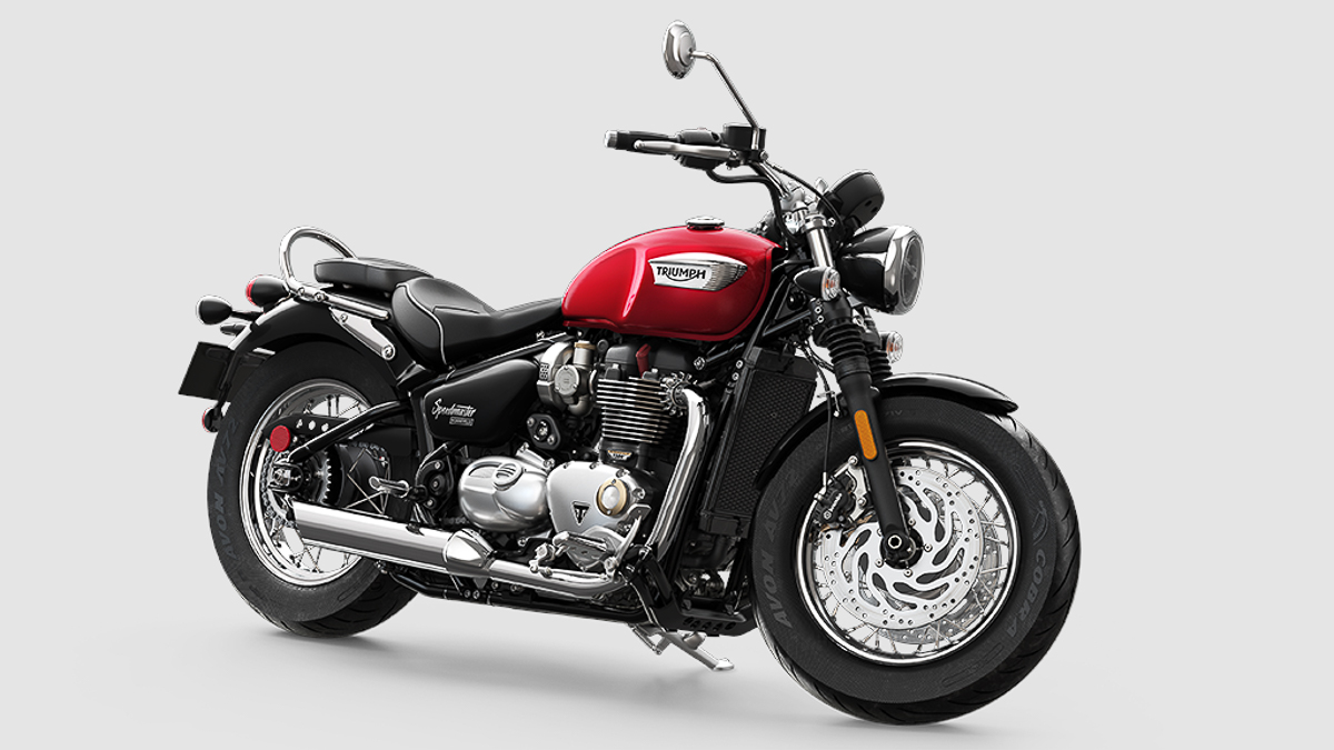2018 triumph bonneville speedmaster launched the new