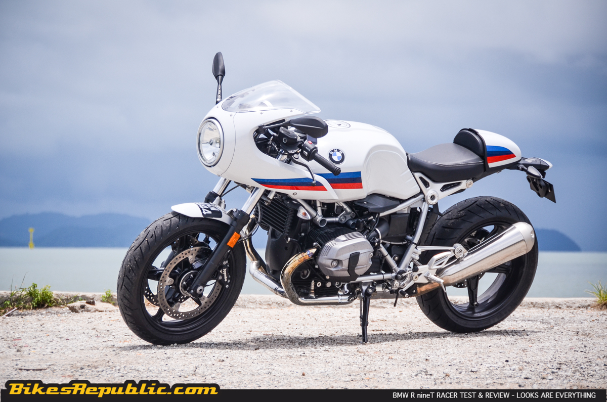 bmw r ninet racer test and review looks are everything. Black Bedroom Furniture Sets. Home Design Ideas