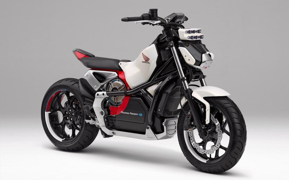 Honda Riding Assist E Concept Bikesrepublic