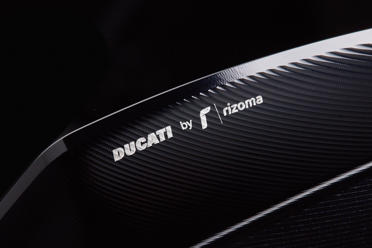 Ducati and Rizoma collaborate to produce special parts