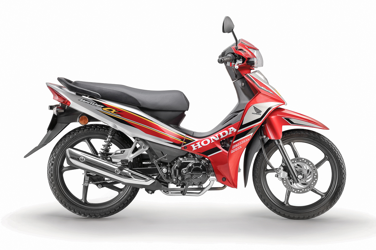New Sportier 2017 Honda Wave Alpha Introduced Rm5 086 Bikesrepublic