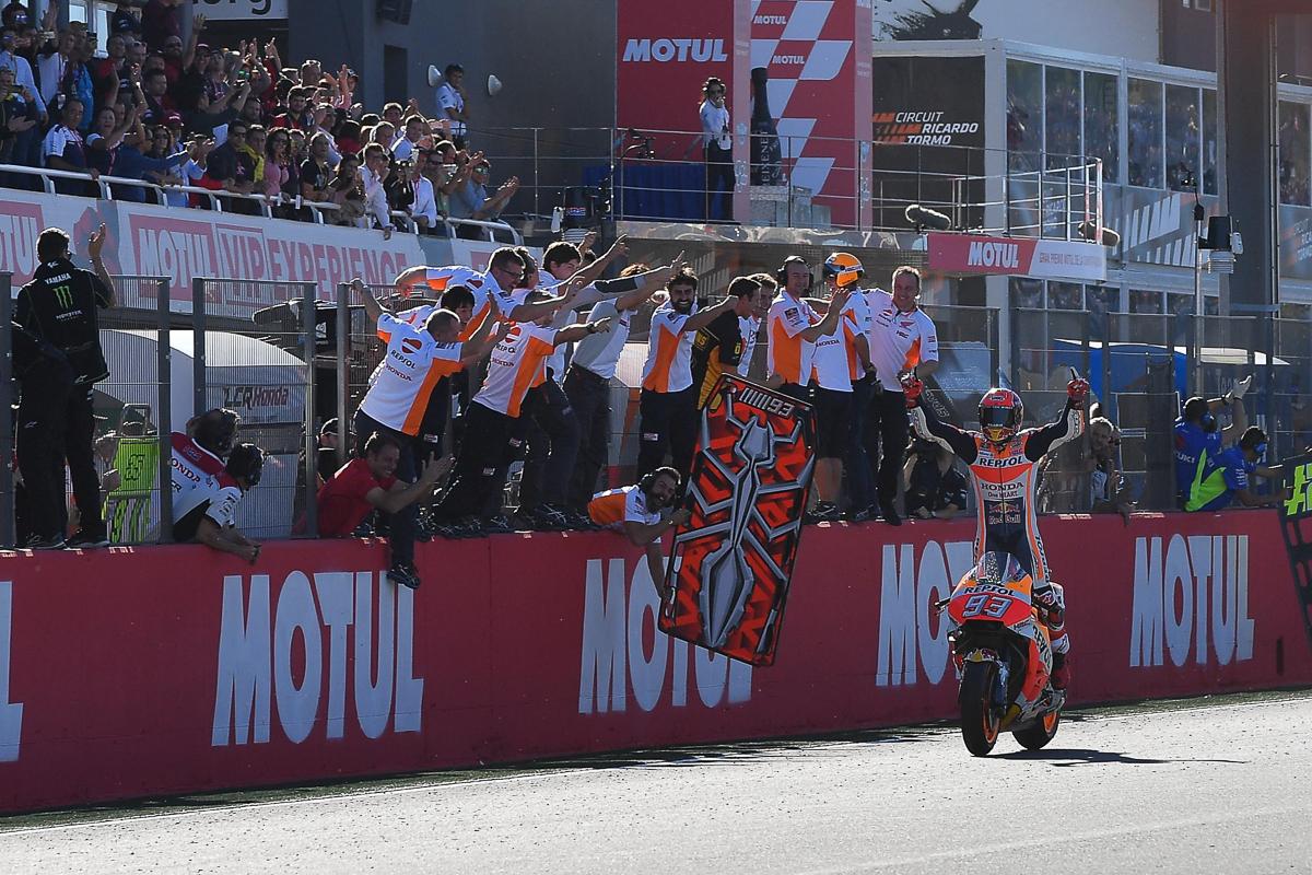 MotoGP: Marc Marquez is crowned 2017 MotoGP World Champion!