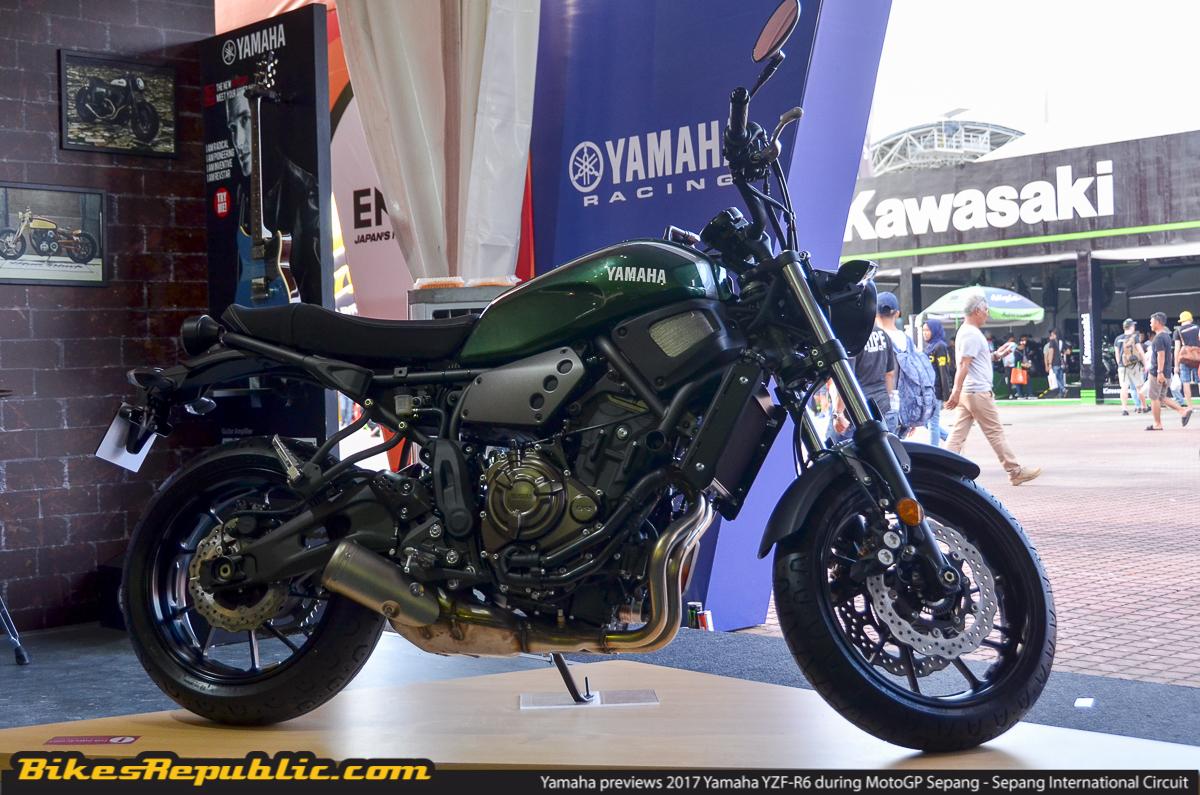Yamaha previews 2017 Yamaha YZF-R6 during MotoGP Sepang
