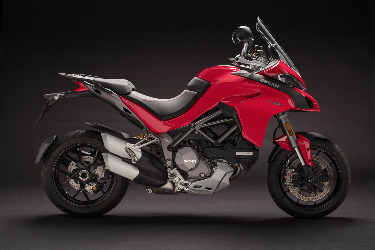Ducati Multistrada 1260 >> 2018 Ducati Multistrada 1260 unleashed – S and Pikes Peak models included - BikesRepublic