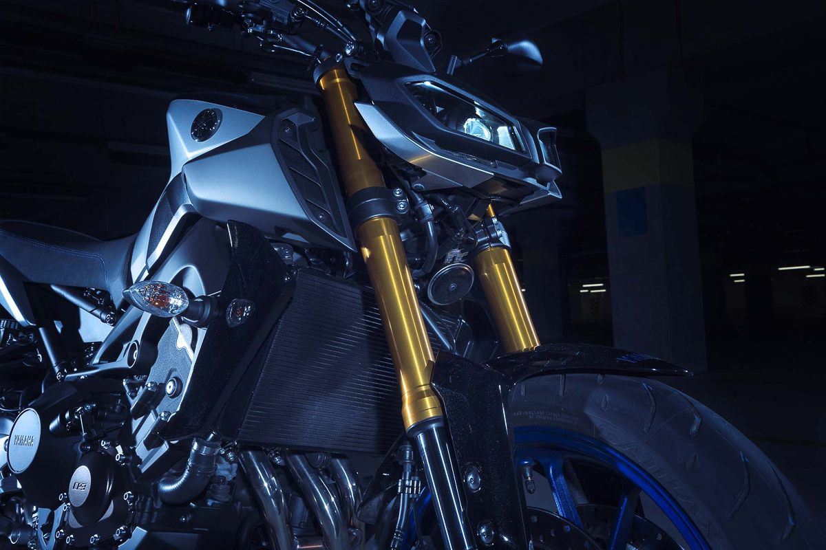 2018 yamaha mt 09 sp challenge the darkness for Motor city performance plus