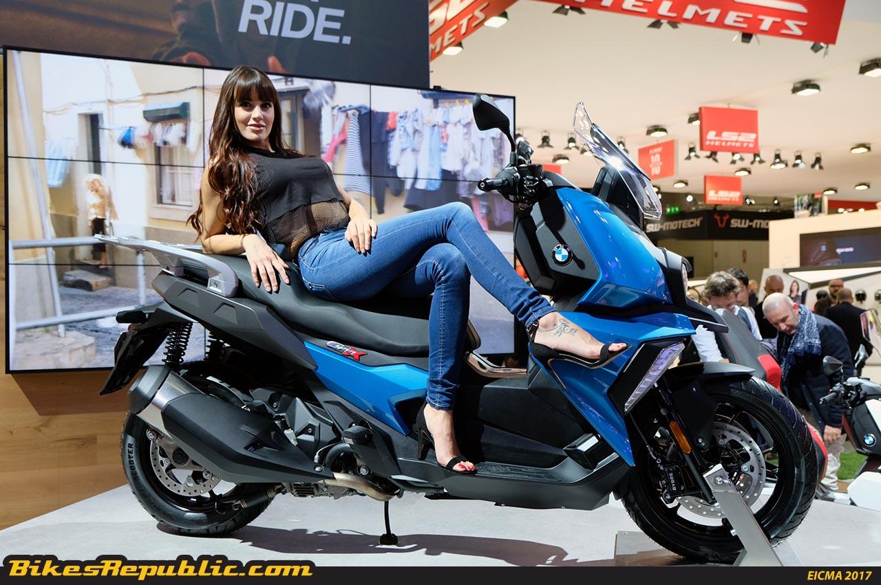 bmw motorrad launches 2018 bmw c 400 x scooter bikesrepublic. Black Bedroom Furniture Sets. Home Design Ideas