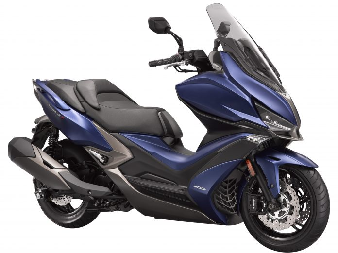 kymco xciting s 400 a new standard for maxi scooters bikesrepublic. Black Bedroom Furniture Sets. Home Design Ideas