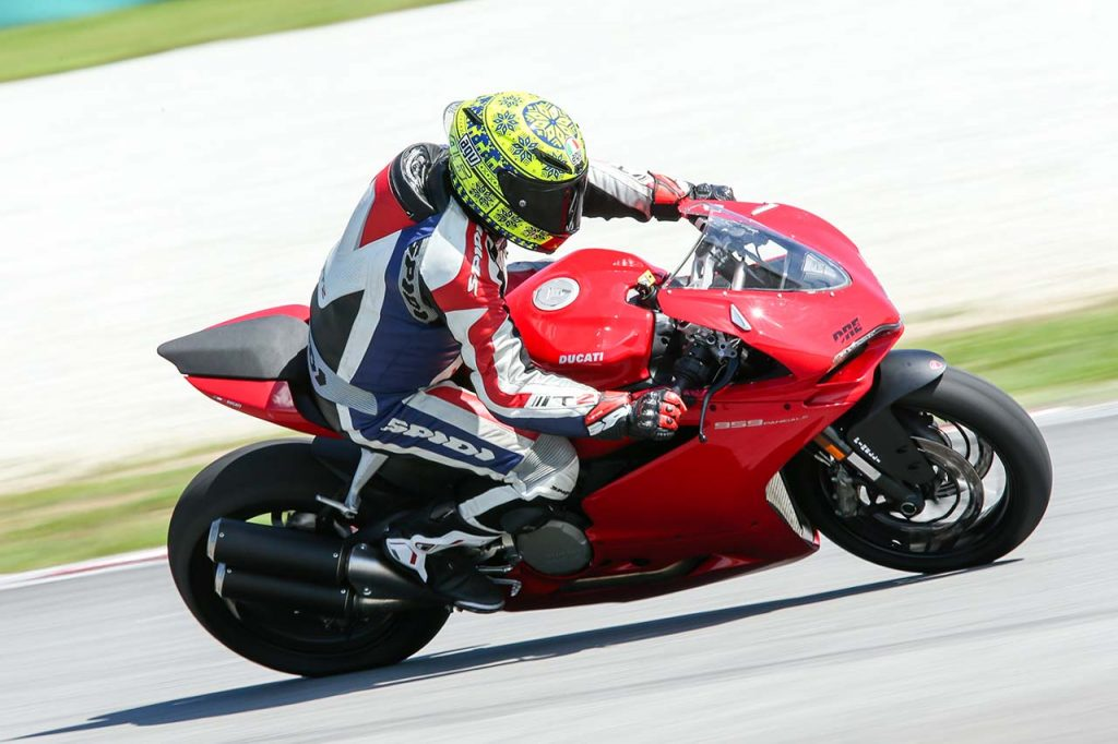 Ducati 959 Panigale Tested During The Ducati Riding Experience At
