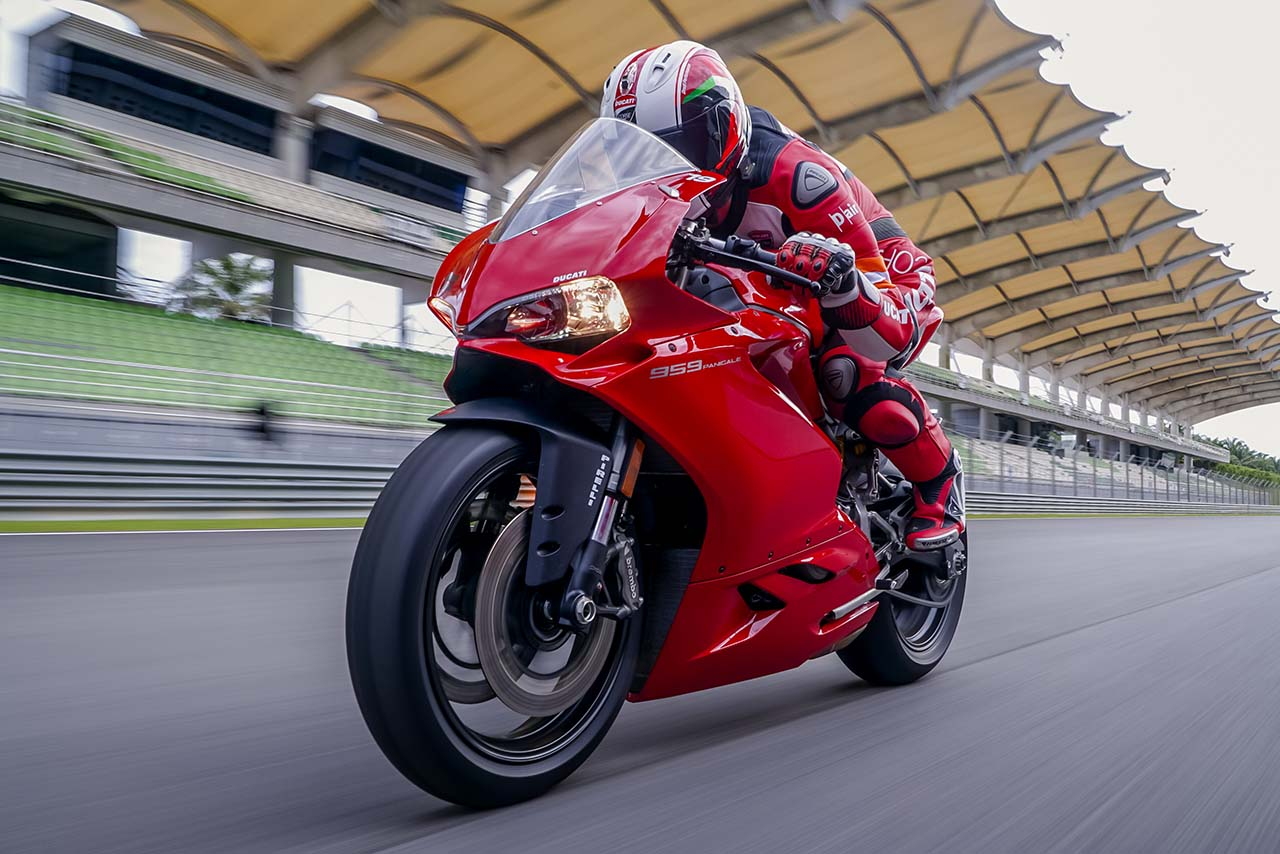 Ducati 959 Panigale Tested During The Riding Experience At Rider Sport Boxer R 383 Sepang Circuit