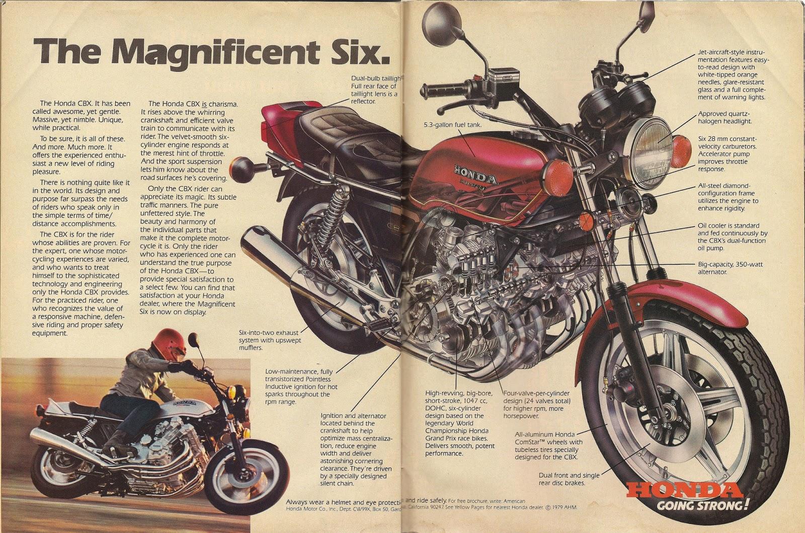 Honda Cbx Usa Bikesrepublic Motorcycles Prototypes
