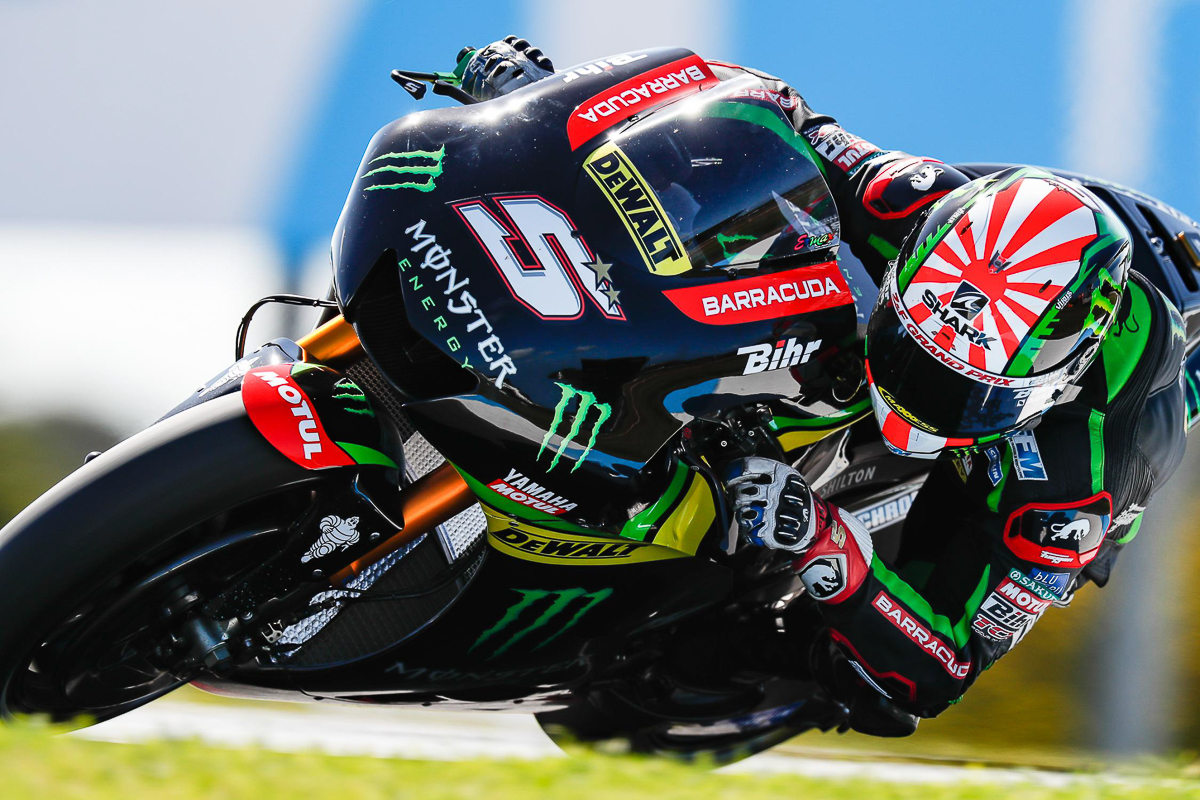 br 39 s rider of the year 2017 johann zarco bikesrepublic. Black Bedroom Furniture Sets. Home Design Ideas