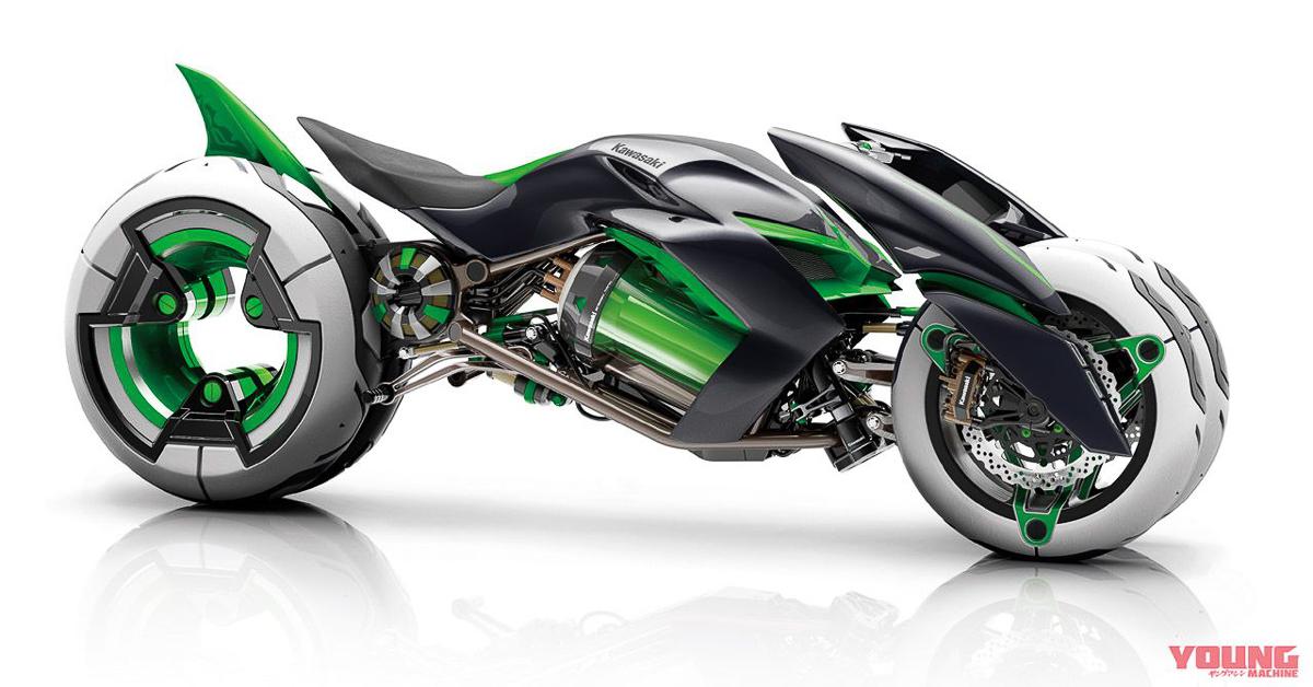 Kawasaki  Wheeler Motorcycle
