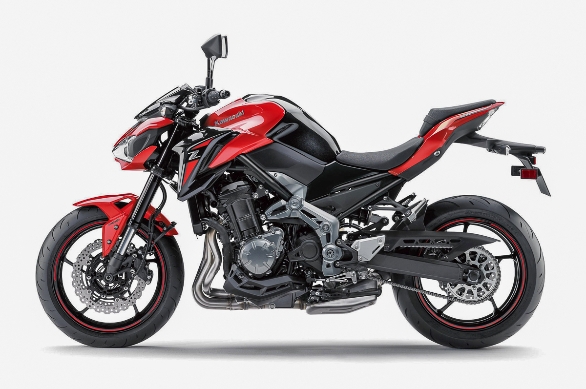 2018 kawasaki z900 abs candy persimmon red rm50 959. Black Bedroom Furniture Sets. Home Design Ideas