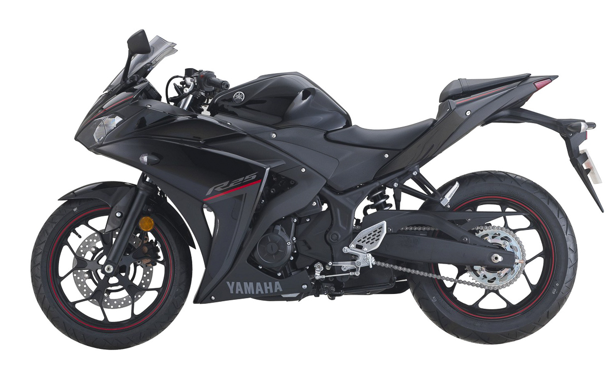 New yamaha 2018 yzf r25 myr21k for Yamaha yzf r25