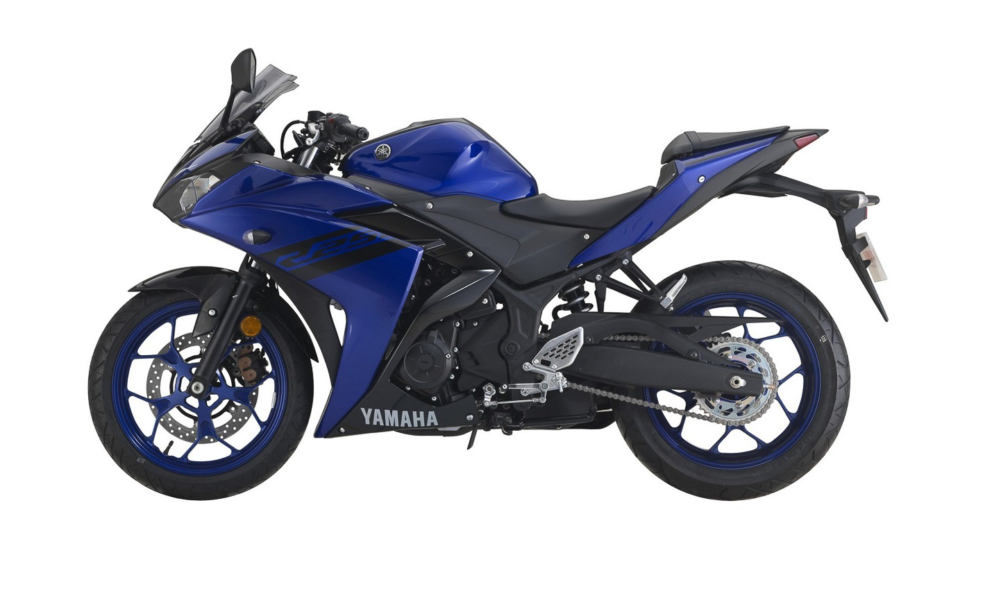 2018 yamaha yzf r25 updated with new colours rm20 630 for Yamaha yzf r25