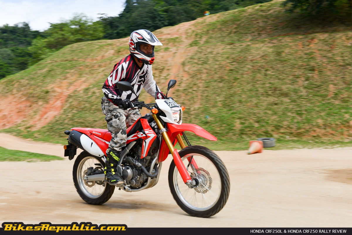 honda crfl crf rally test review bikesrepublic