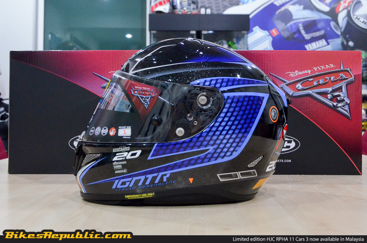 Hjc Rpha 11 >> HJC RPHA 11 Cars 3 helmets now available in Malaysia! From RM2,729 - BikesRepublic