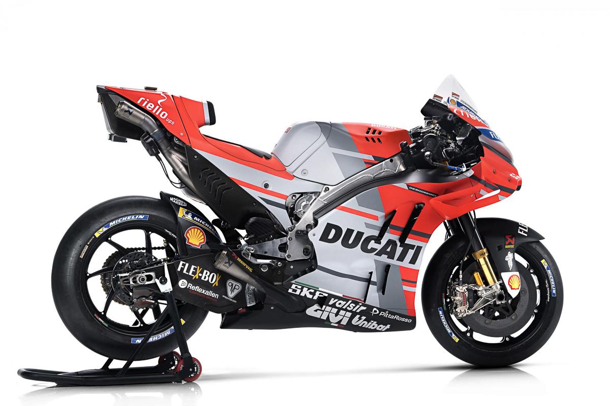 MotoGP: Ducati Desmosedici GP18 unveiled with new livery - BikesRepublic