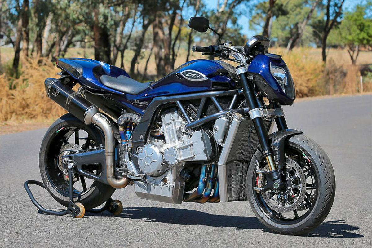 V8 motorcycle australia