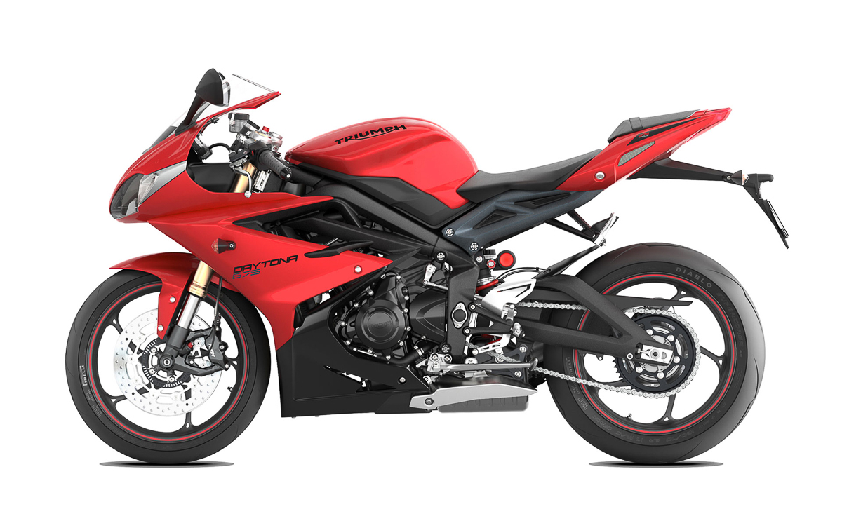 2019 triumph daytona 765 coming soon bikesrepublic. Black Bedroom Furniture Sets. Home Design Ideas