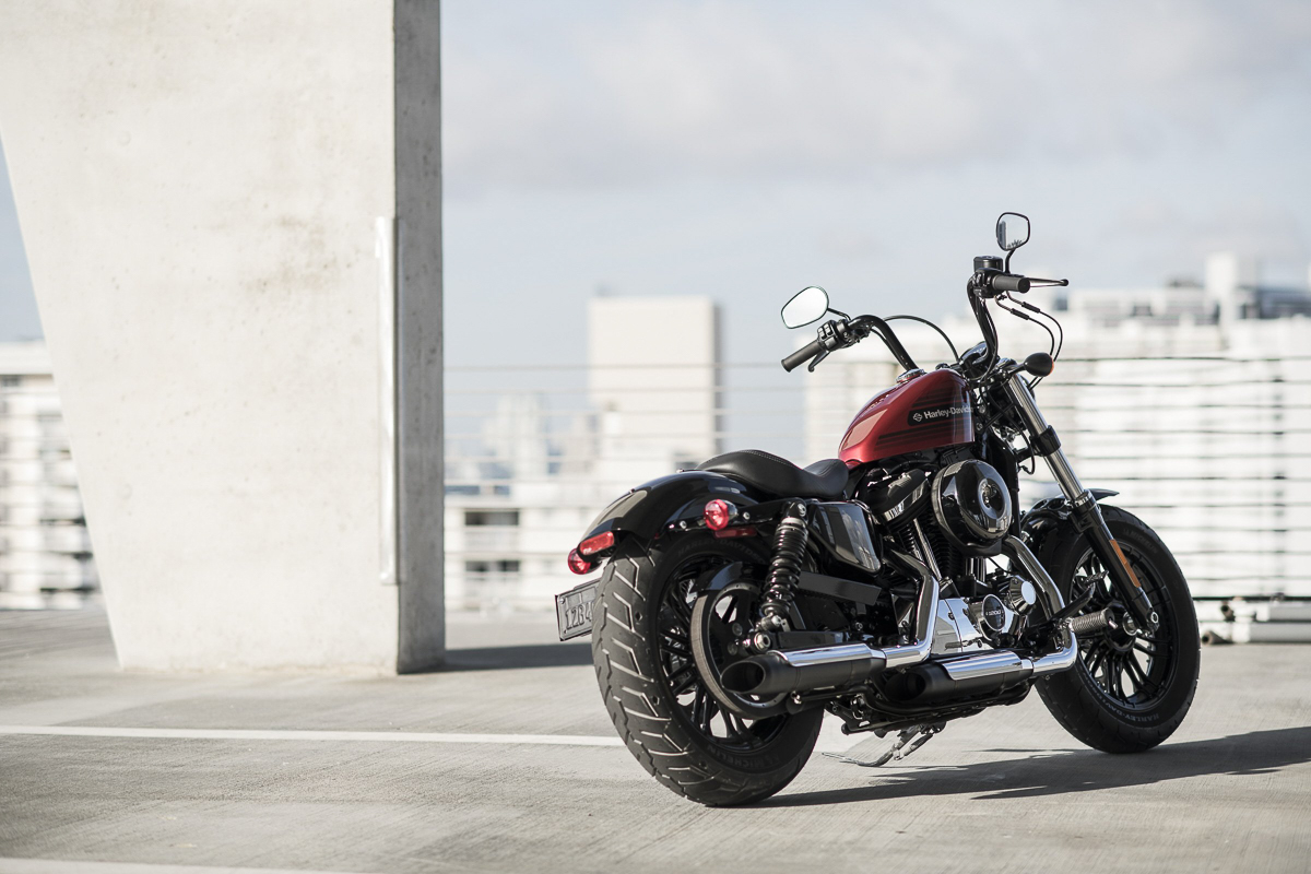 Harley Davidson: 2018 Harley-Davidson Iron 1200 And Forty-Eight Special