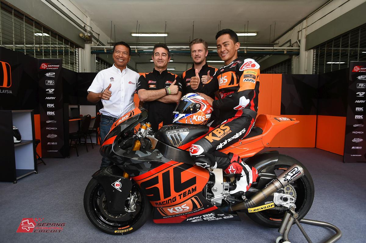 Moto2: Zulfahmi Khairuddin set for 2018 with new bike and livery! - BikesRepublic