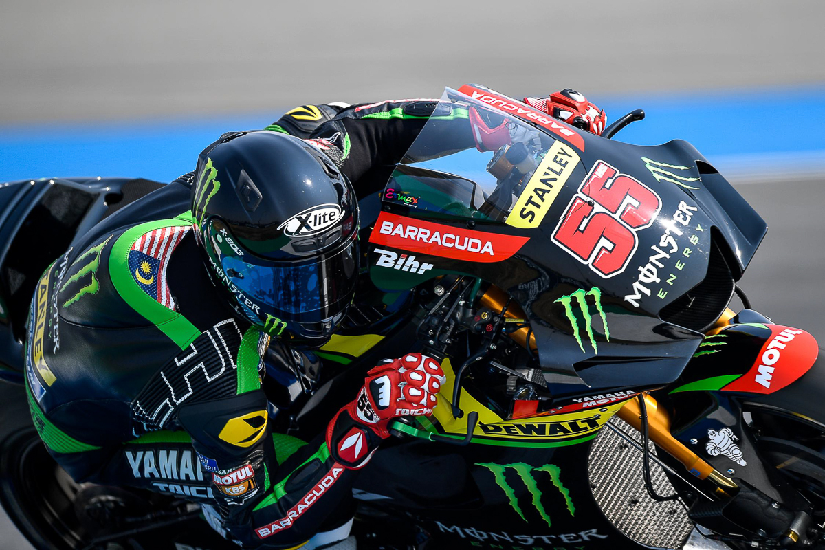 is hafizh syahrin really the first malaysian motogp rider
