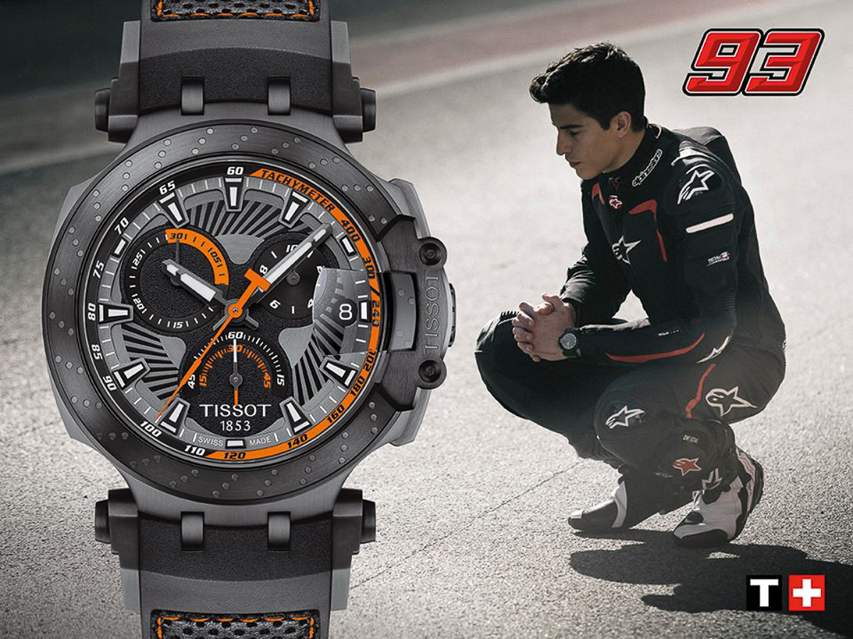 Marc Marquez is the new Tissot Ambassador! - BikesRepublic