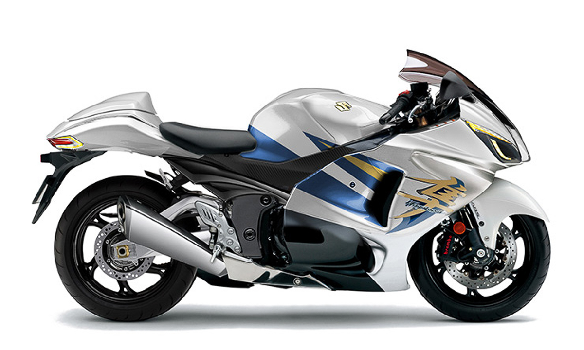 2019 Suzuki Hayabusa will run a 1440cc engine? - BikesRepublic