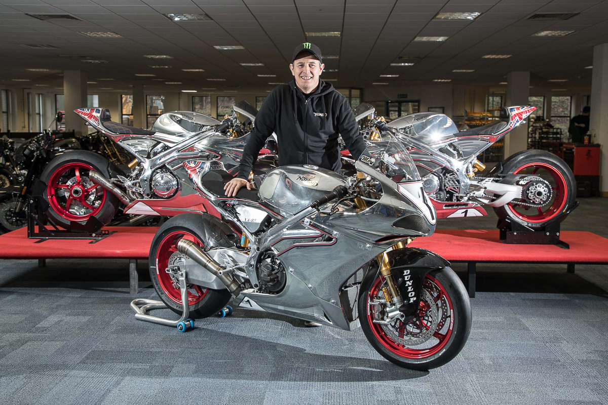 Isle of man tt john mcguinness switches to norton for The norton