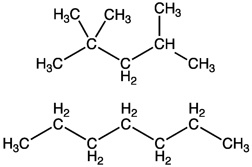 octane can be cracked to pentane and what