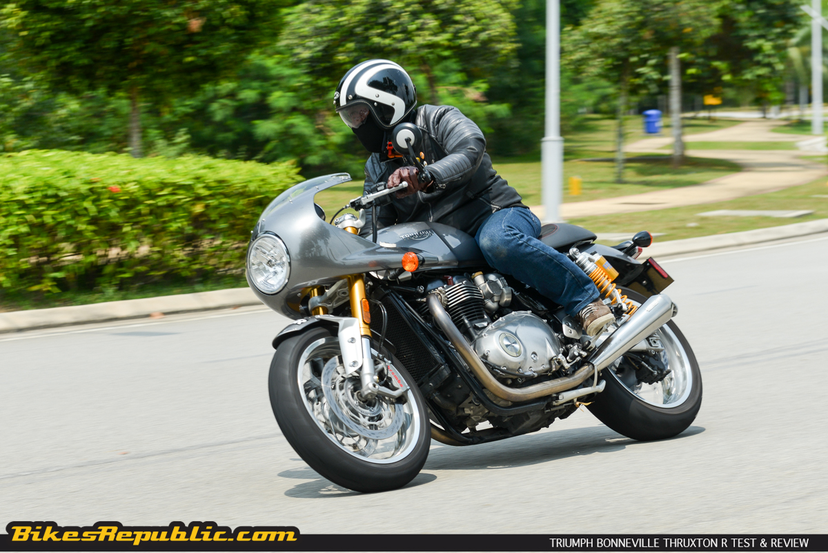 Triumph Thruxton R Test & Review - BikesRepublic