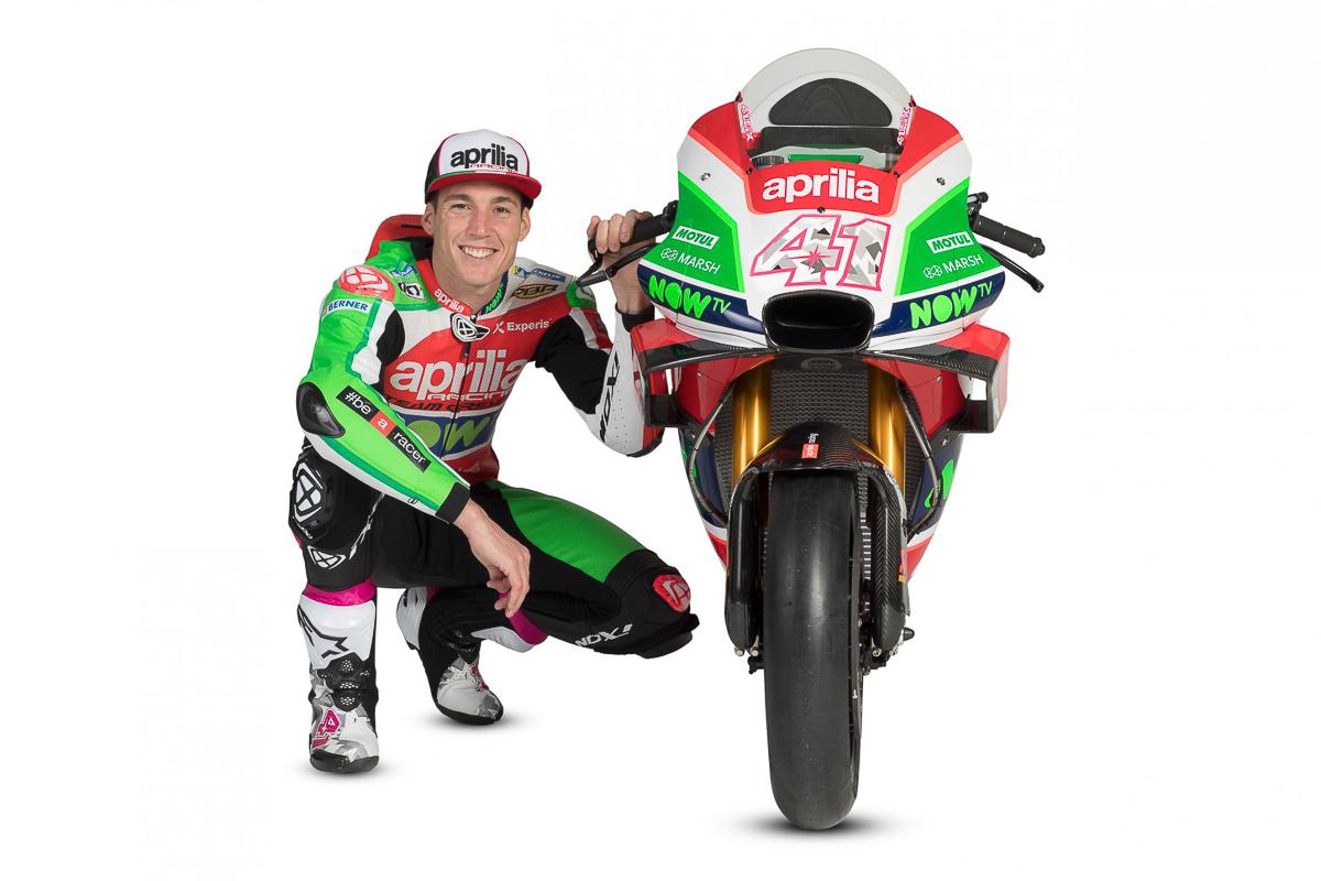 MotoGP: Aleix Espargaro stays with Aprilia until 2020