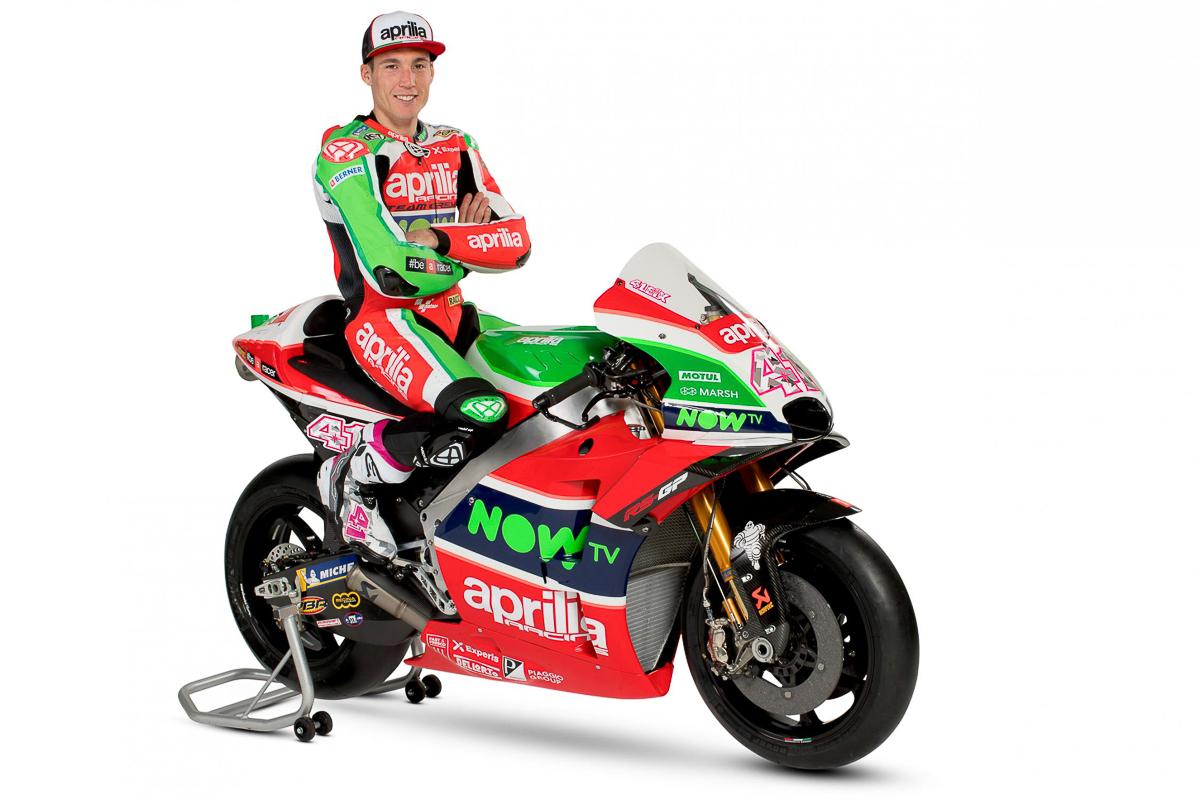 MotoGP: 2018 Aprilia RS-GP challenger unveiled! - BikesRepublic