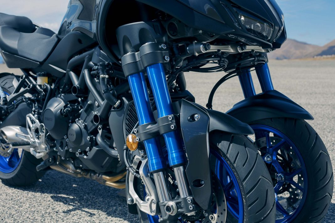 Mid-Sized Leaning Three-Wheeler Coming from Yamaha