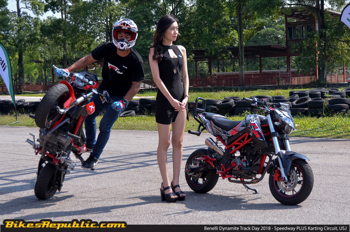 Benelli dynamite track day rocks speedway plus circuit bikesrepublic garnished with 15 new aesthetic updates and accessories only 1000 of these babies will go on sale for the malaysian market these accessories include new altavistaventures Image collections