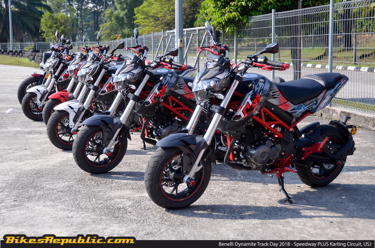 Benelli dynamite track day rocks speedway plus circuit bikesrepublic following the launch of the 2018 benelli tnt 135 le limited edition just last month mforce bike holdings sdn bhd the official importer and distributor altavistaventures Images