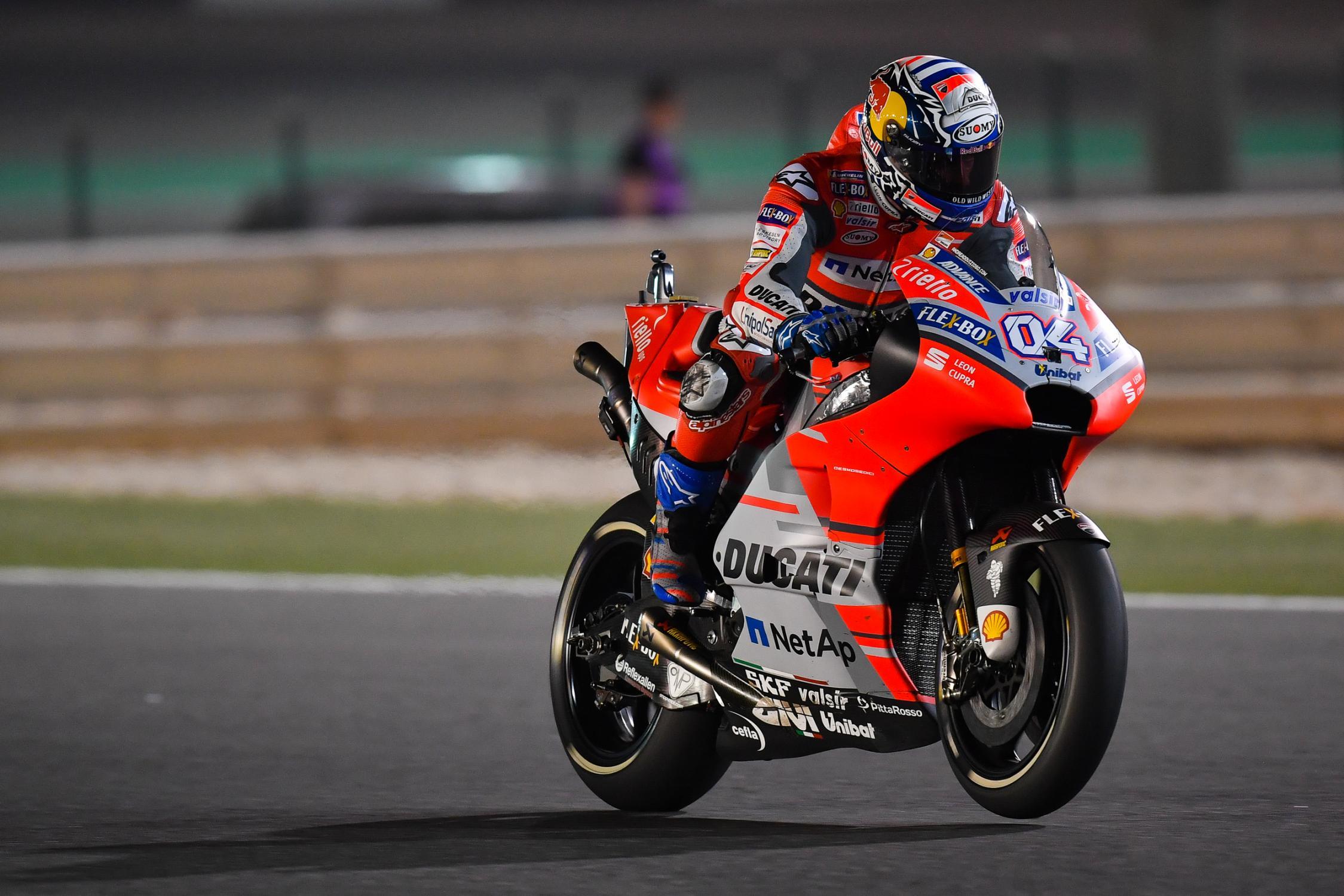 2018 Grand Prix of Qatar: Dovizioso Wins Thrilling MotoGP ...